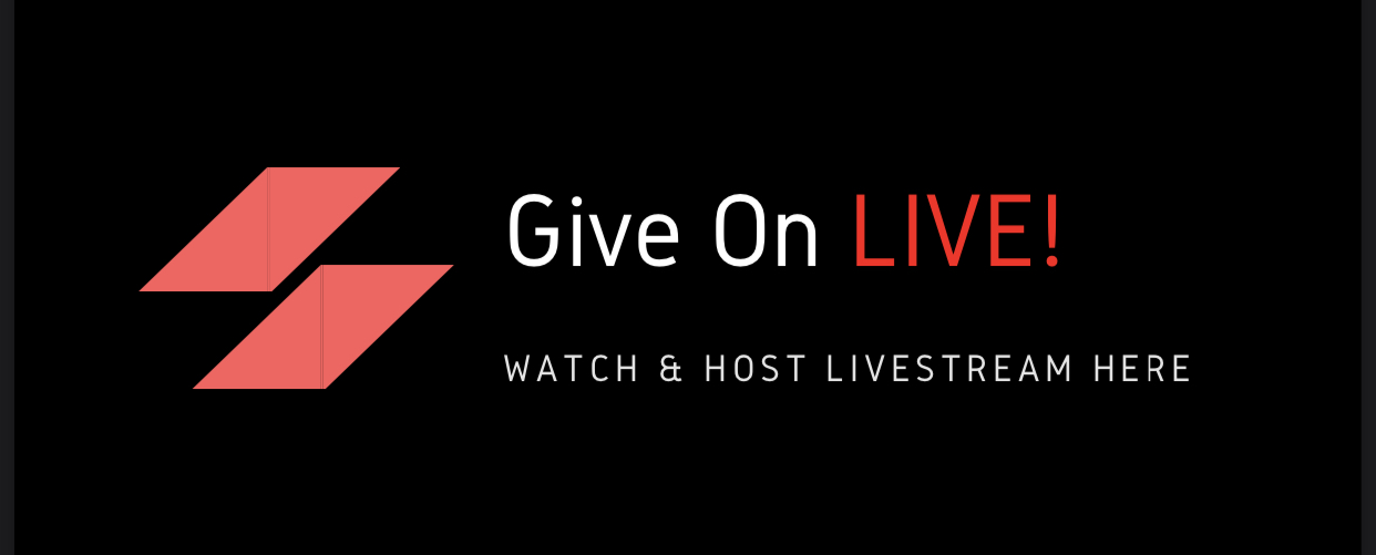 Give On LIVE! Crowdsourced Public Livestream Calendar