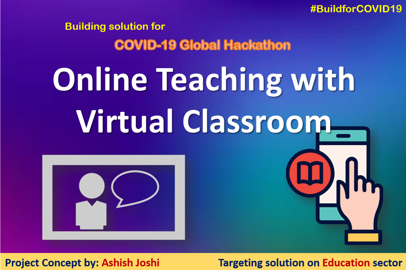Online Teaching with virtual classroom