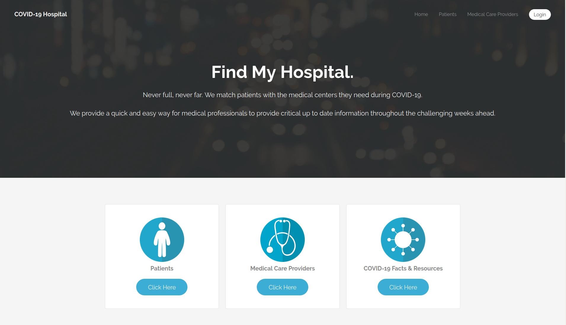 CovidHospital.org