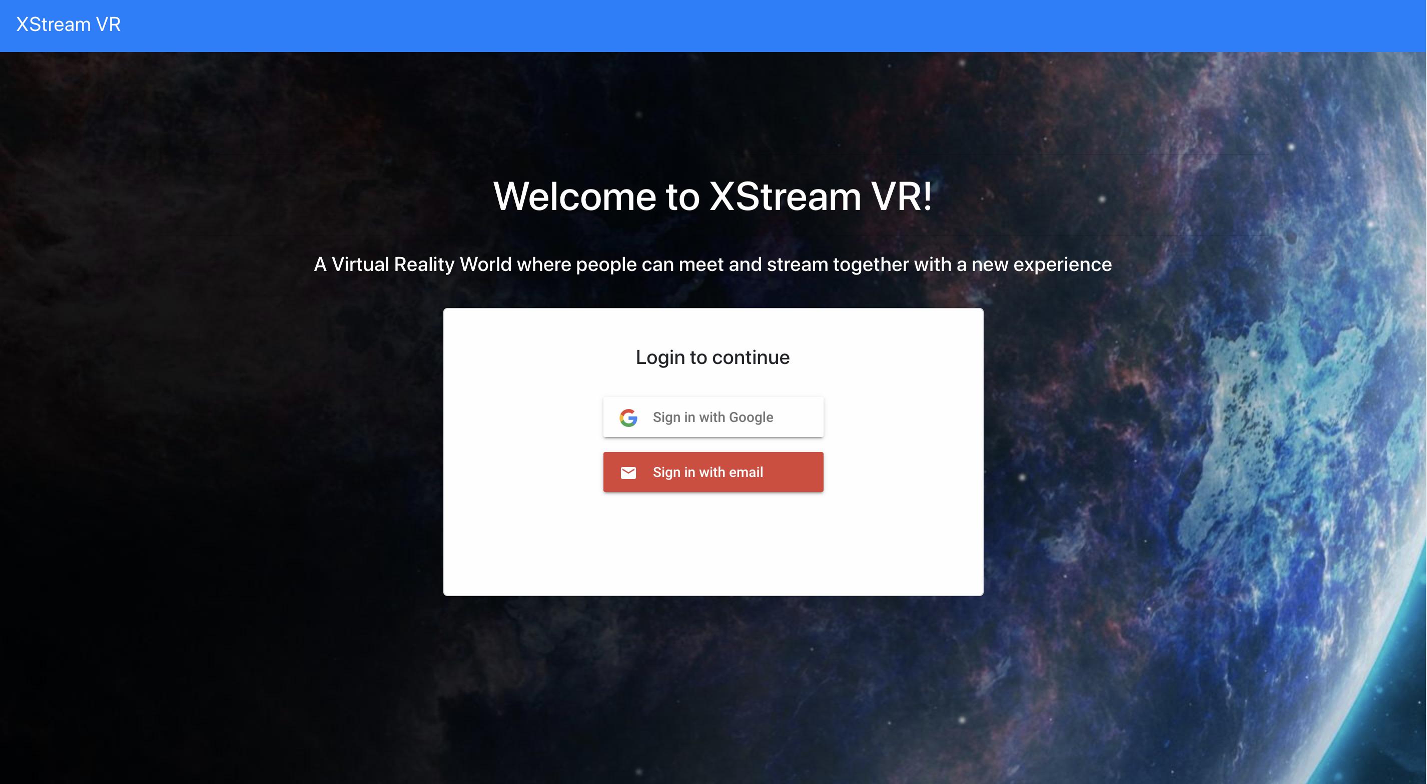 XStream VR