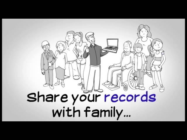Medical records storage