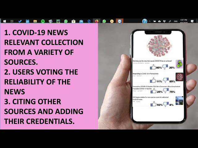 Trusted news aggregator website with vetted-voting feature