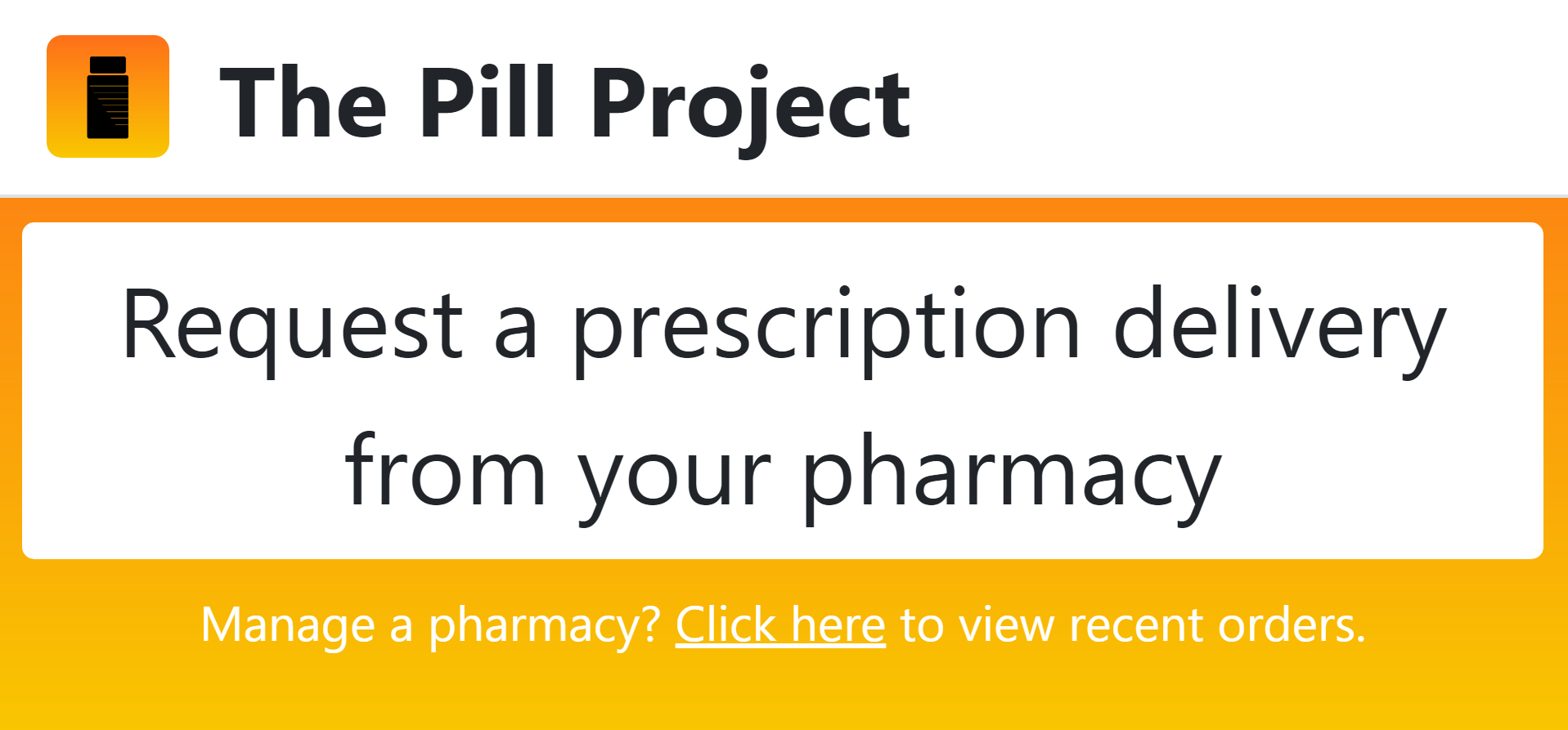 The Pill Project