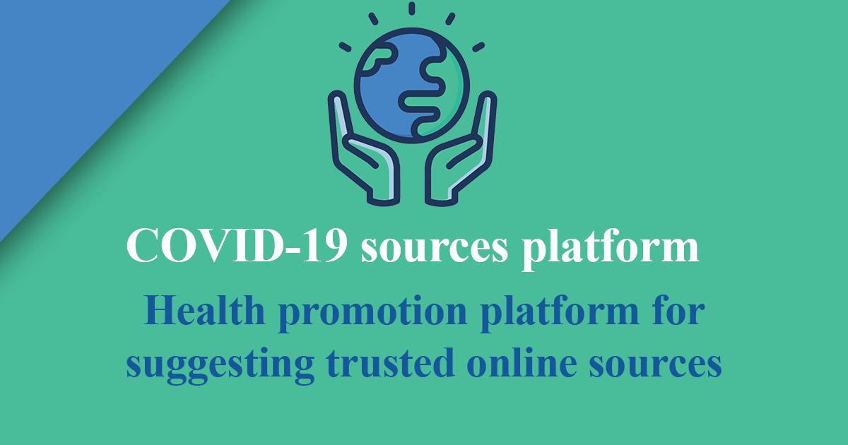 COVID-19 Health promotion platform
