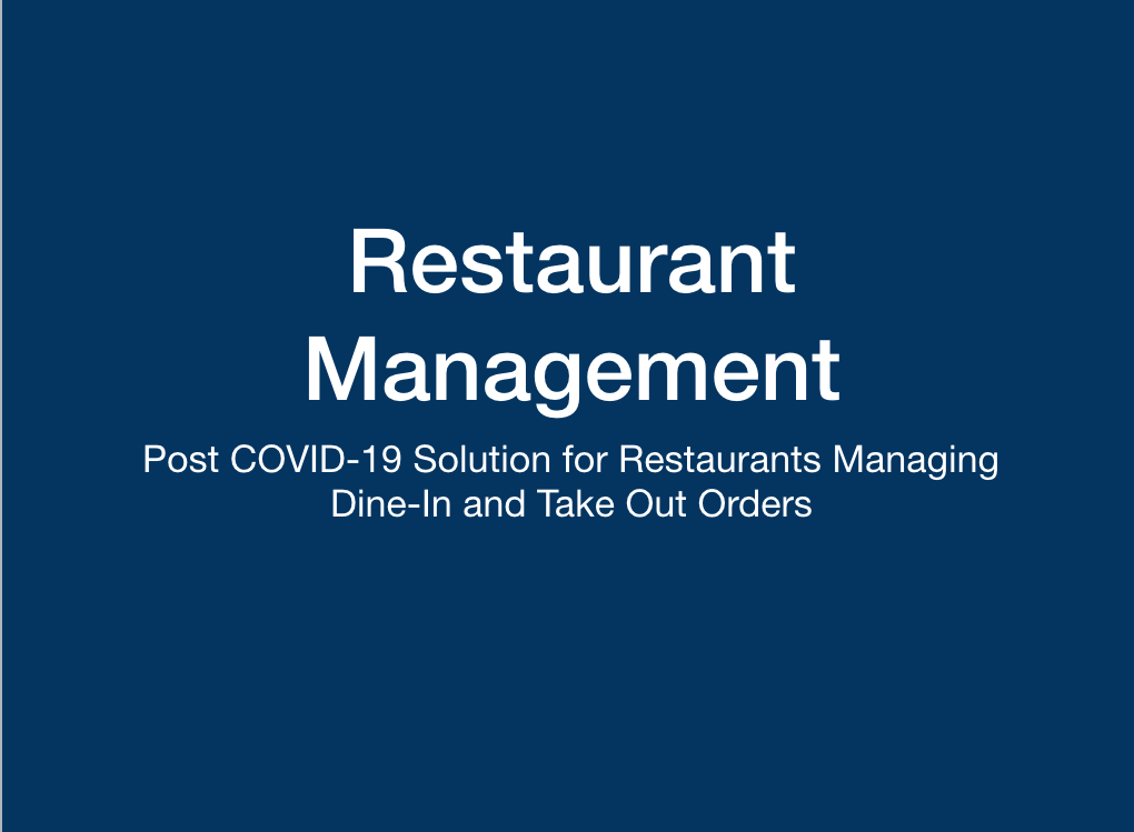 Restaurant Capacity & Operations Management