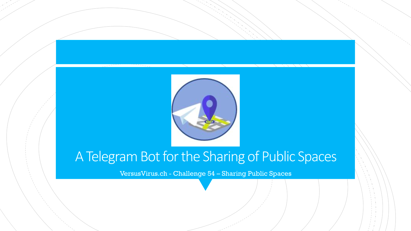 A Telegram Bot to Optimise the Sharing of Public Spaces