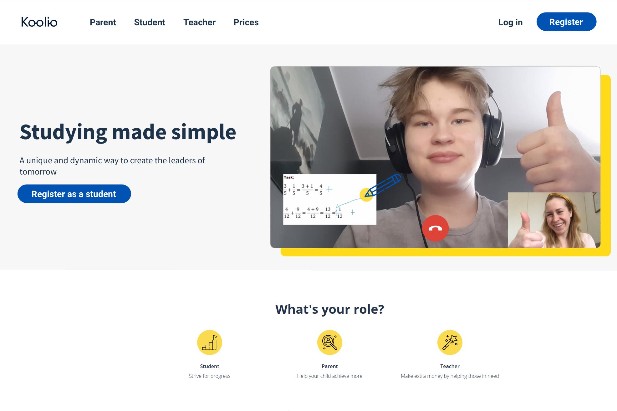 Peer-To-Peer learning platform