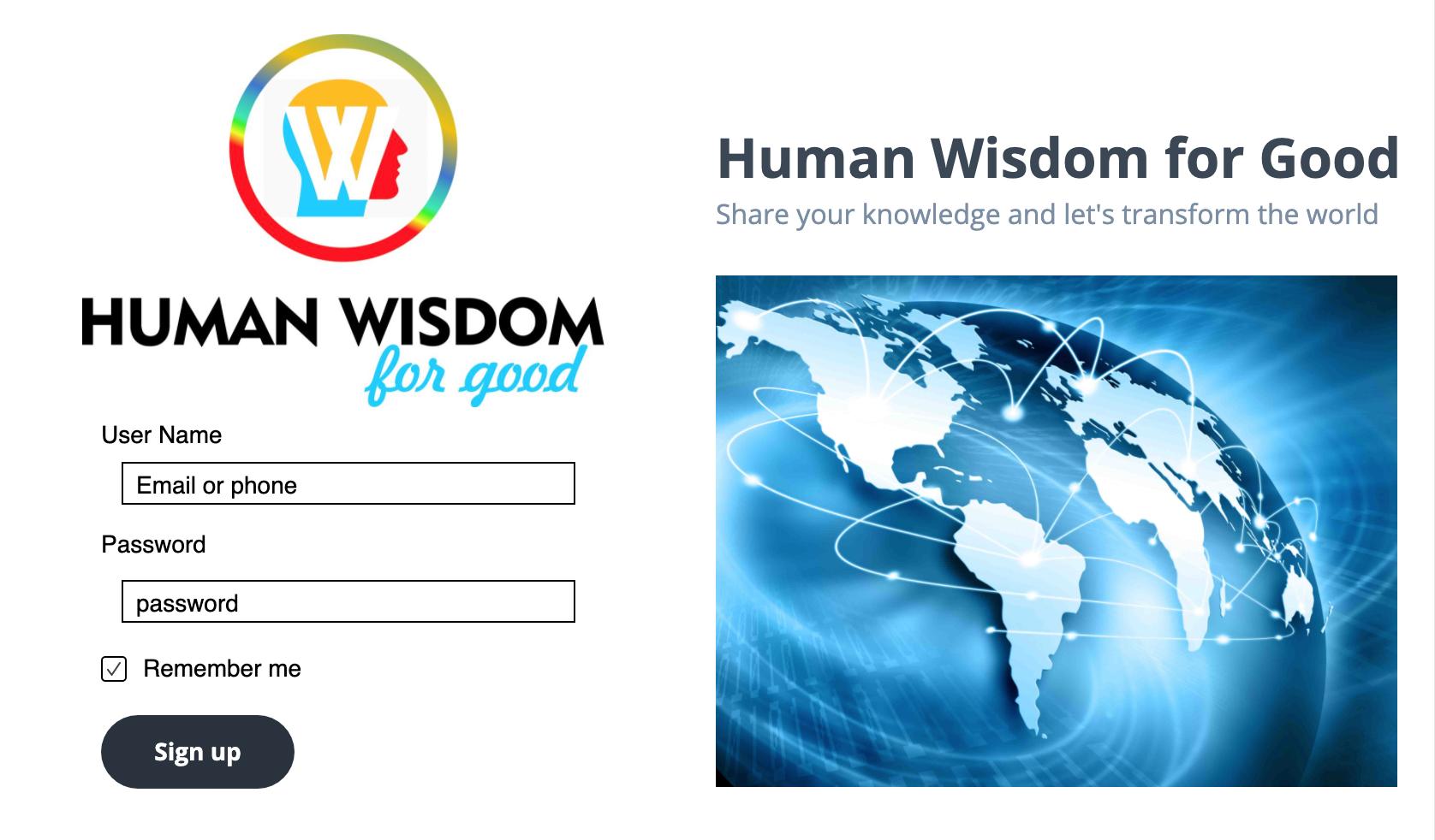 Human Wisdom for Good