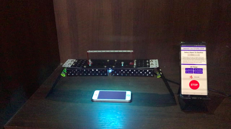 OBILIZER: Smart WiFi Enabled UV Powered Object Sterilizer