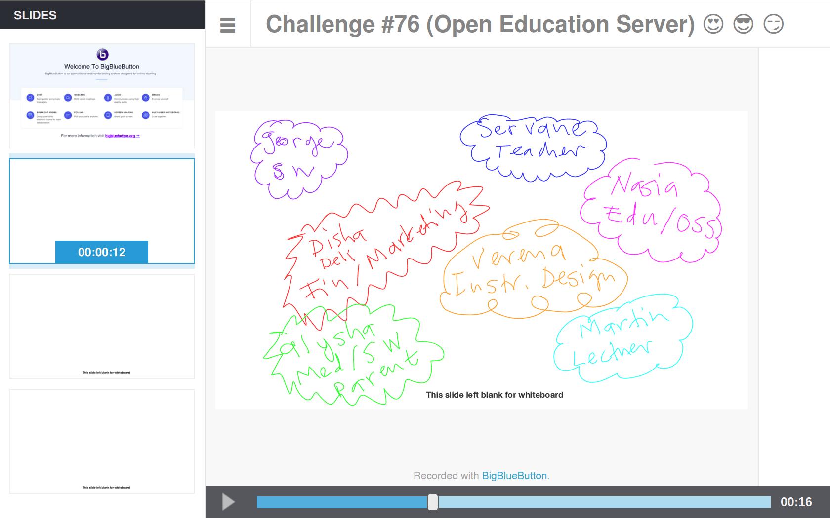 Challenge #76 (Open Education Server)