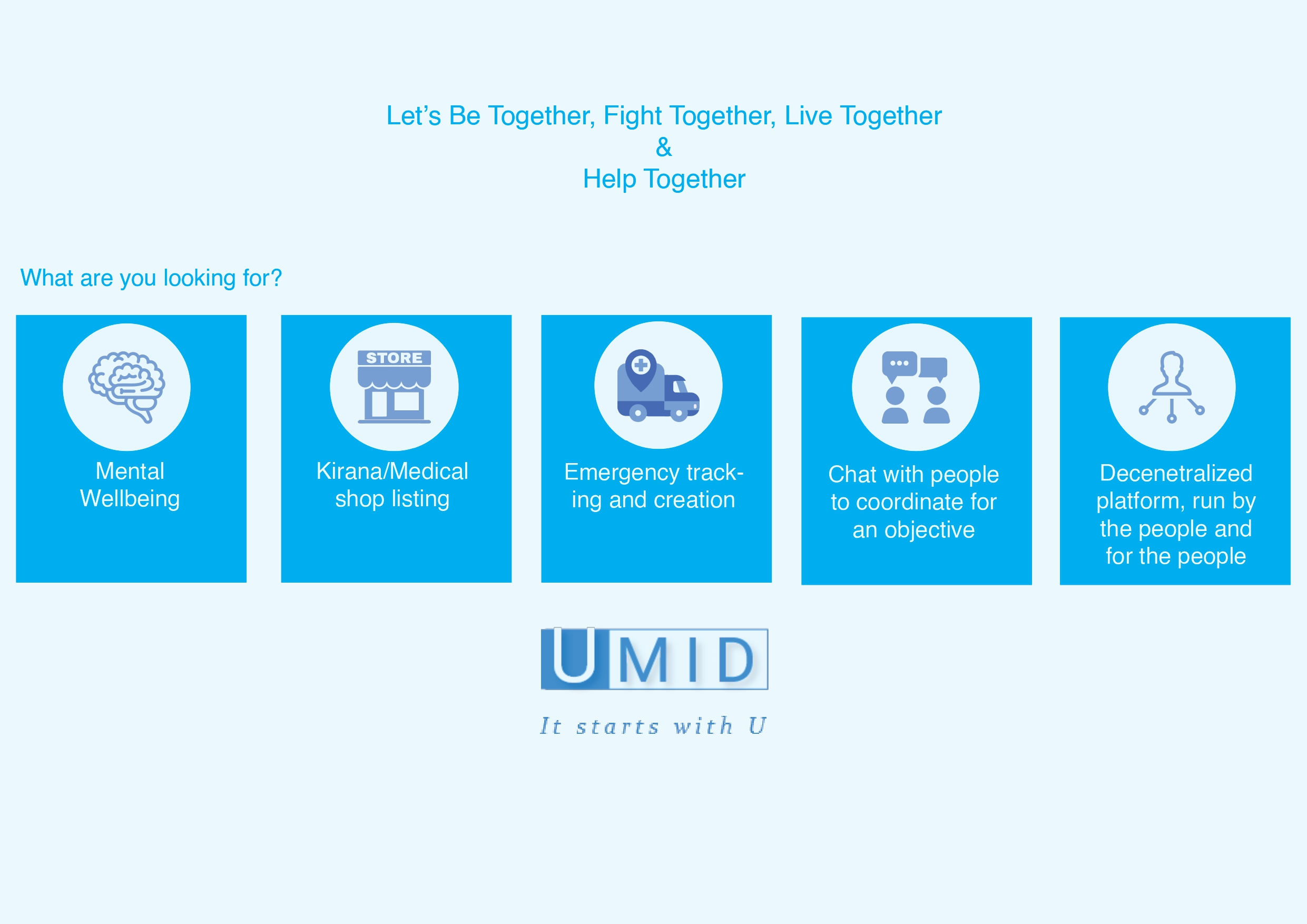 UMID - Collaborate & Help