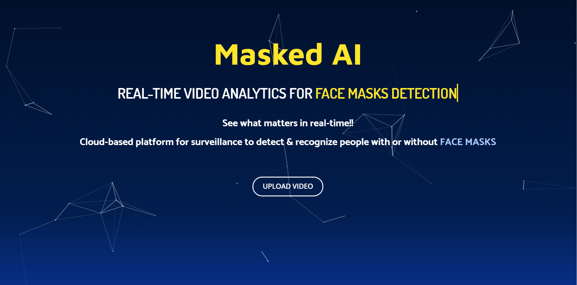 Masked AI: AI Solution for Face Mask Identification