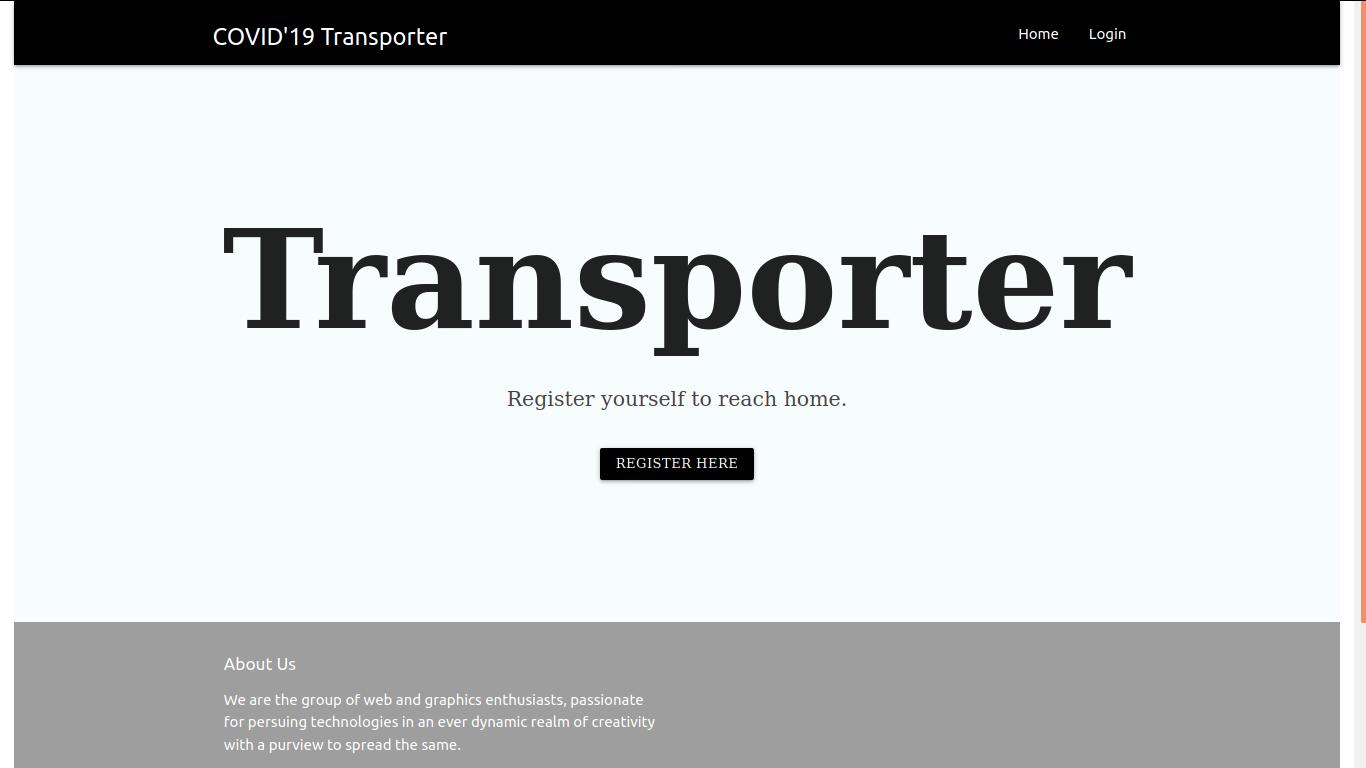Covid'19 Transporter