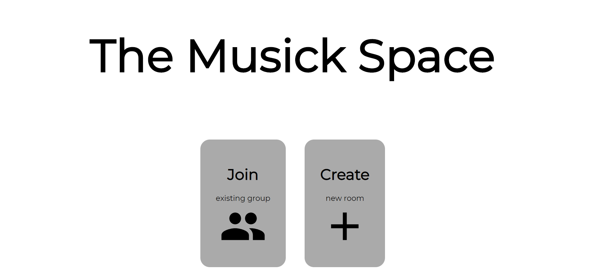 The Musick Space