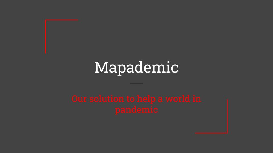 Team 5: Mapademic