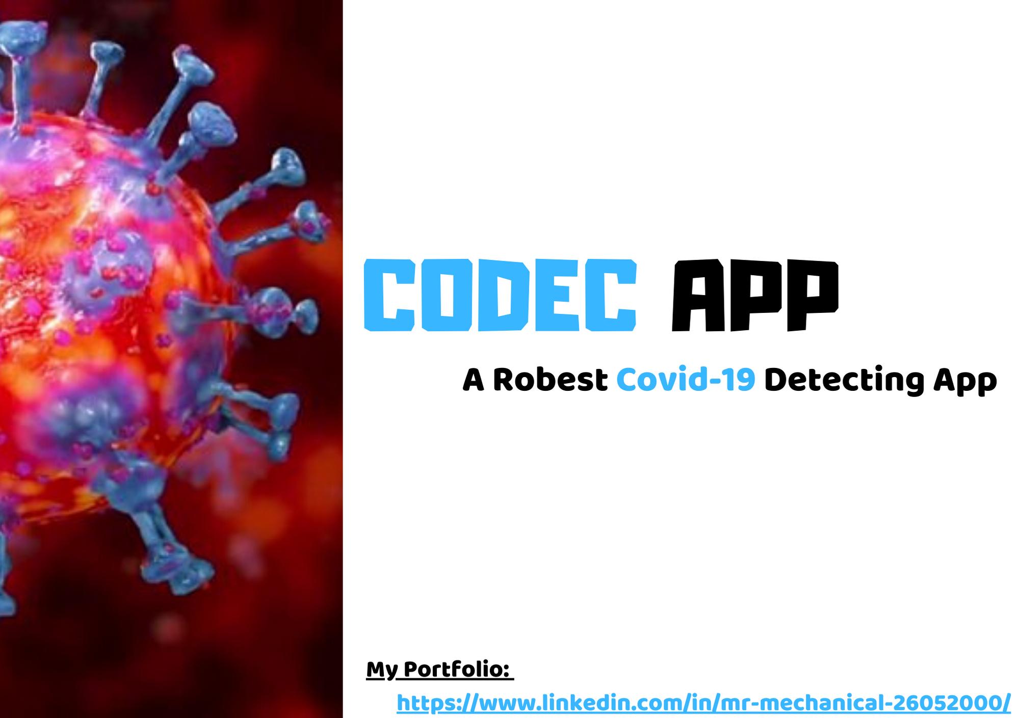 CODEC- Corona Detector