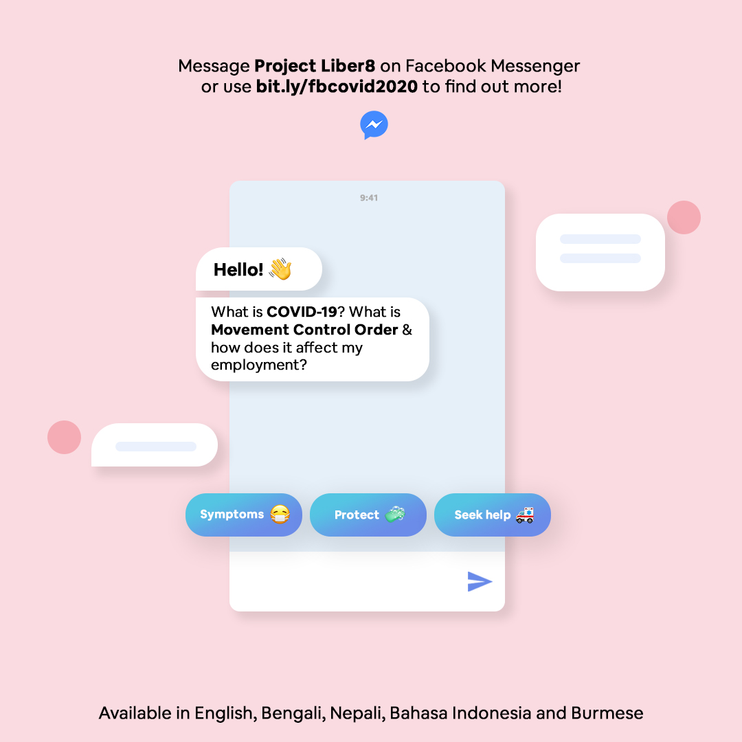 Project Liber8 Chatbot