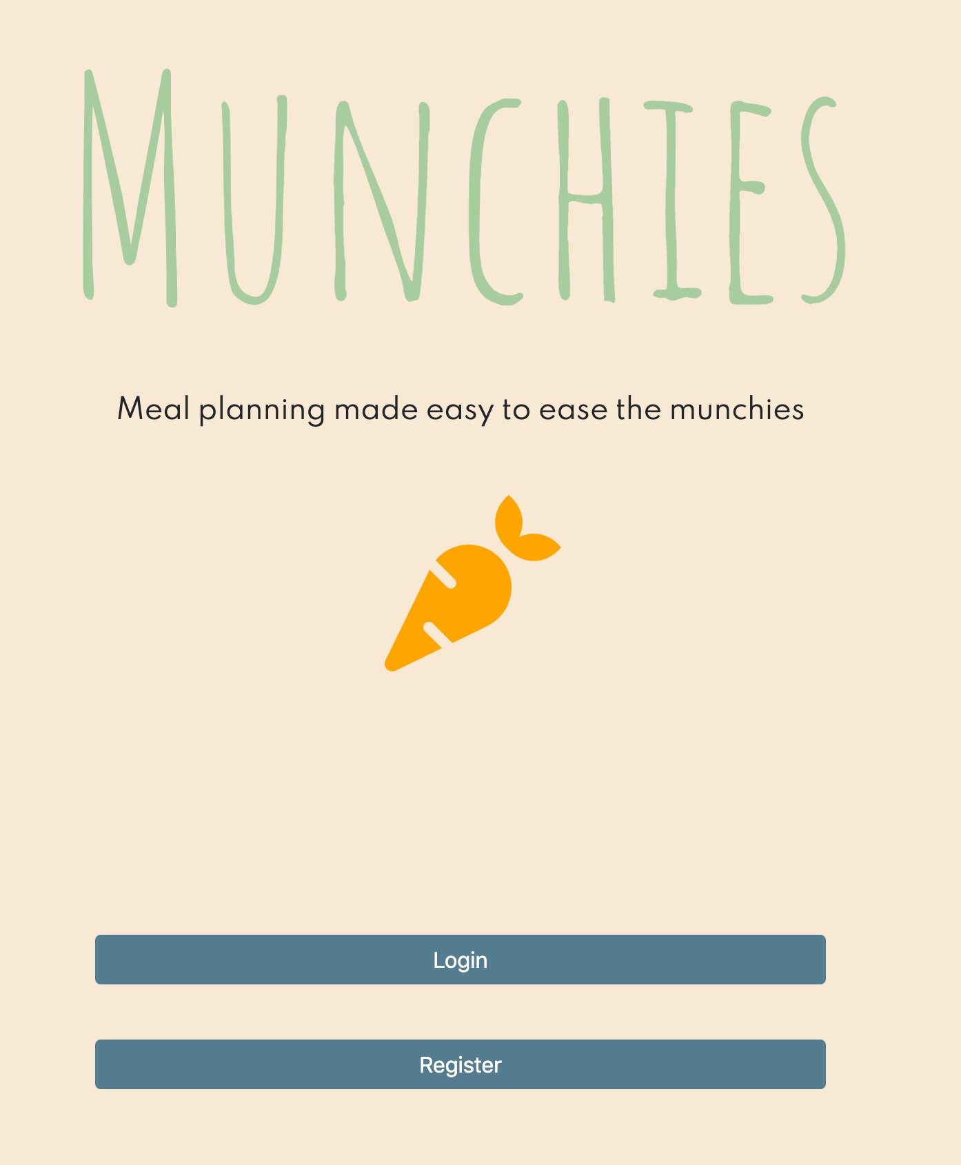 Munchies - LA HACKS 2020