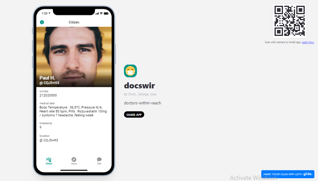 docswir - doctors within reach