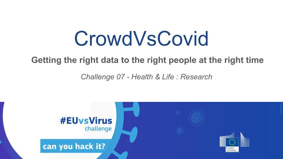 CrowdvsCovid