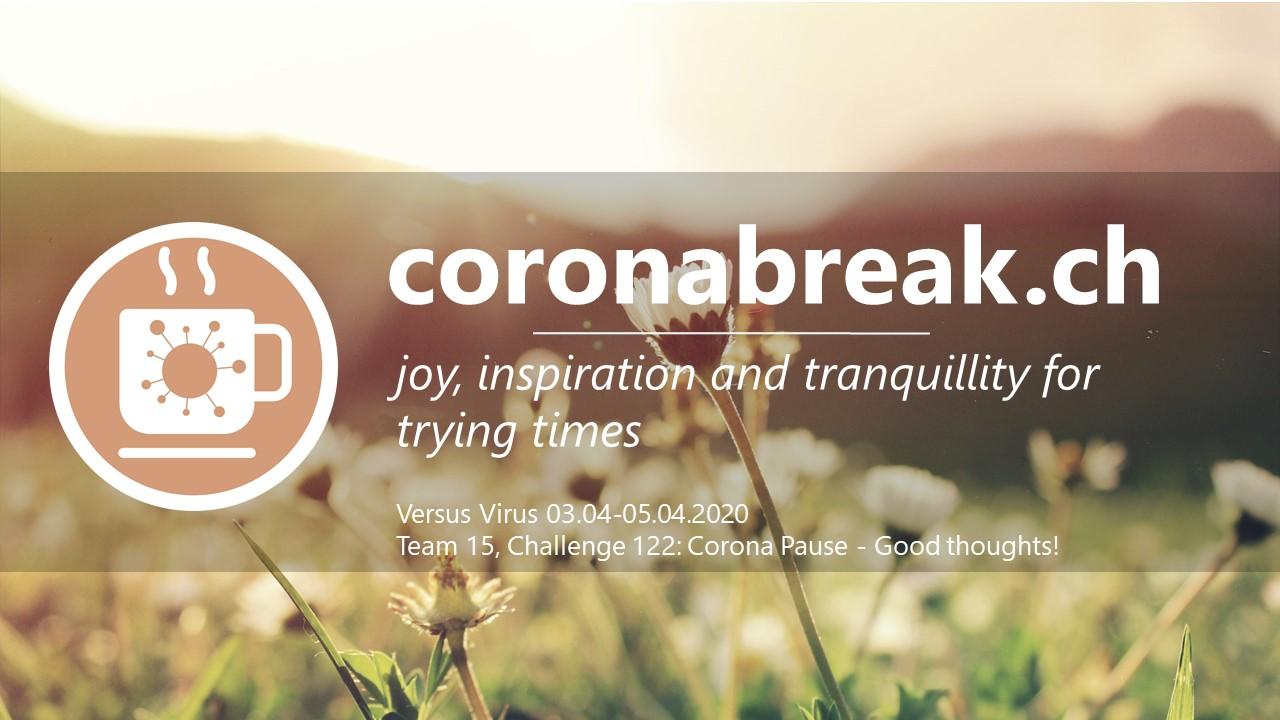 www.coronabreak.ch - Challenge 122