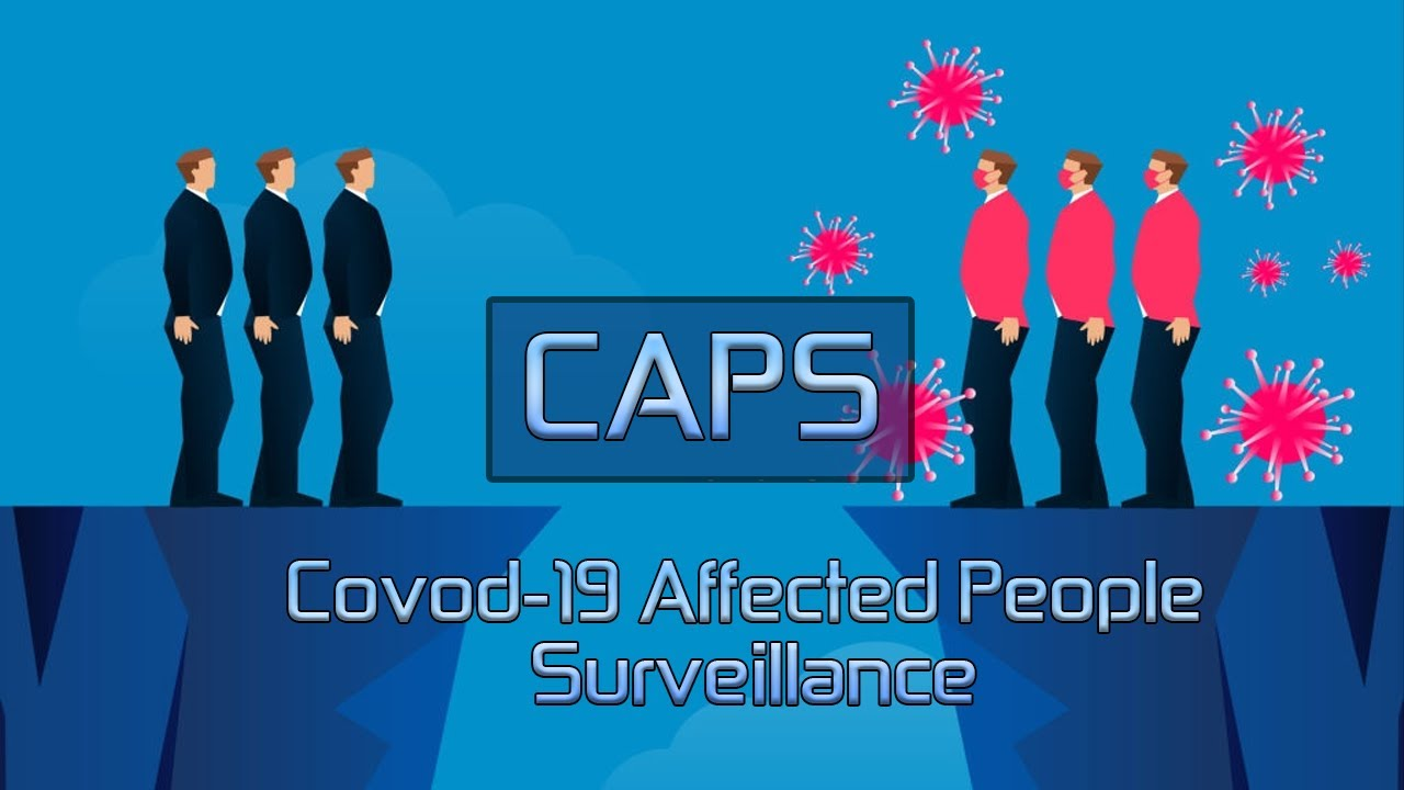 COVID-19 Affected People Surveillance (CAPS) Application