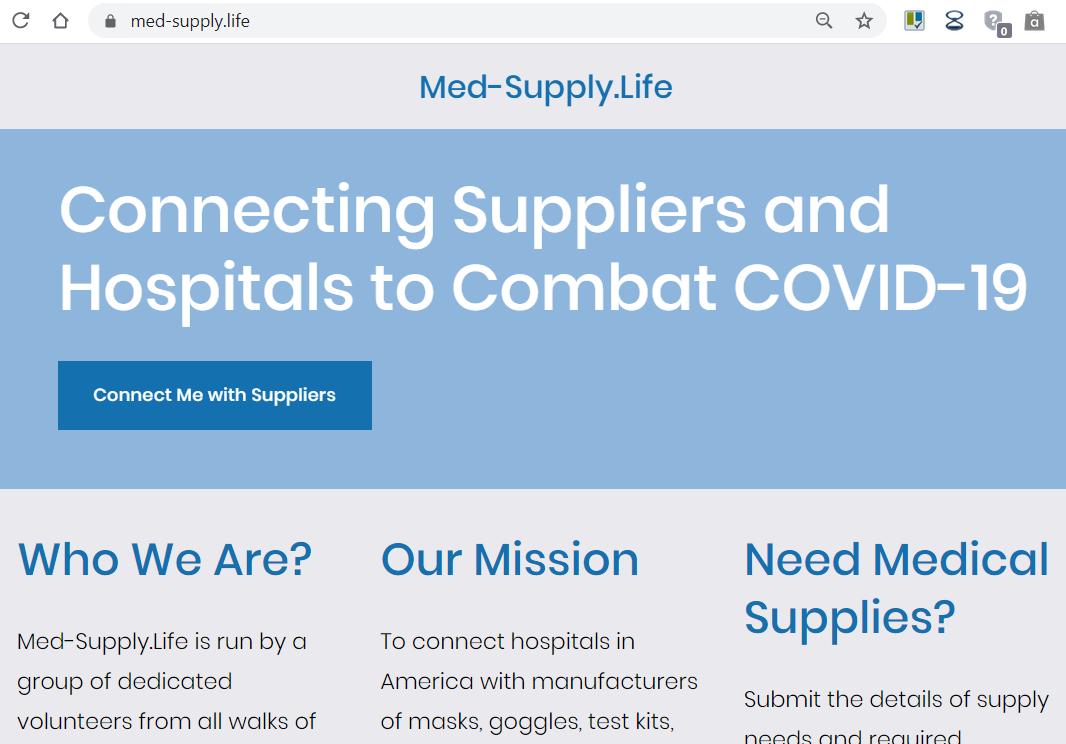 Med-Supply.Life for Lives!