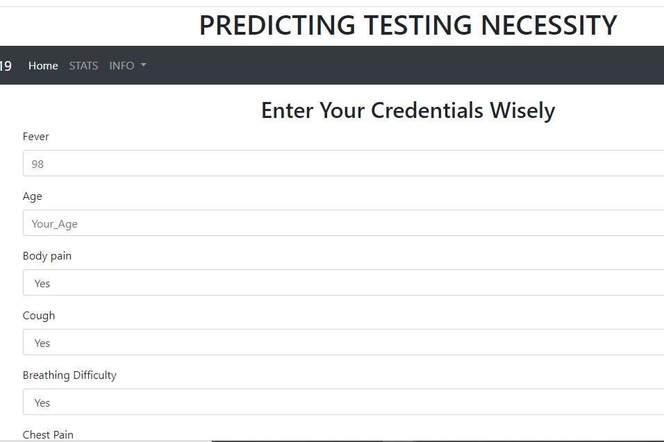 Predicting Laboratory Testing Necessity using ML.