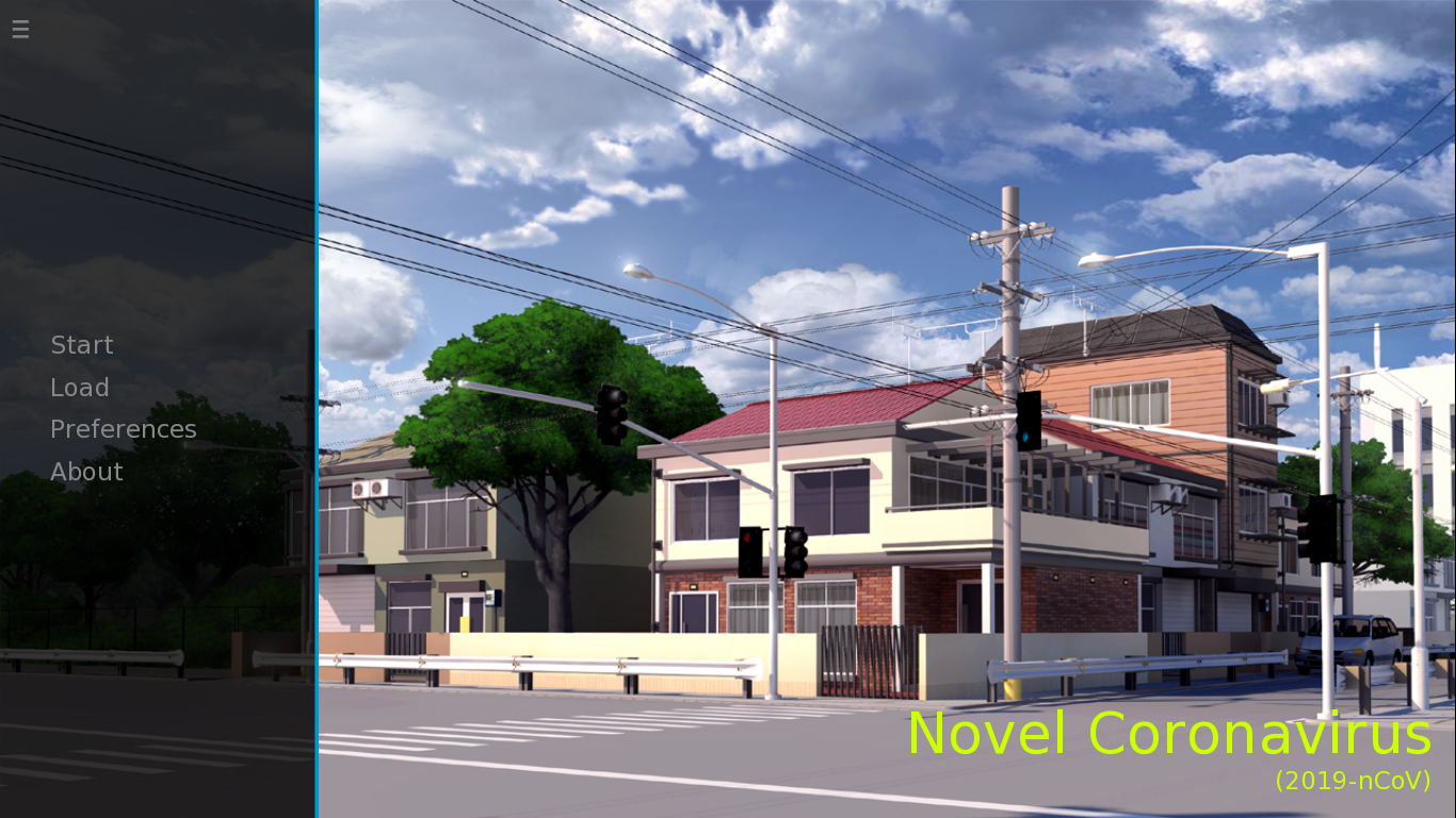 Novel: A Visual Novel on Covid-19