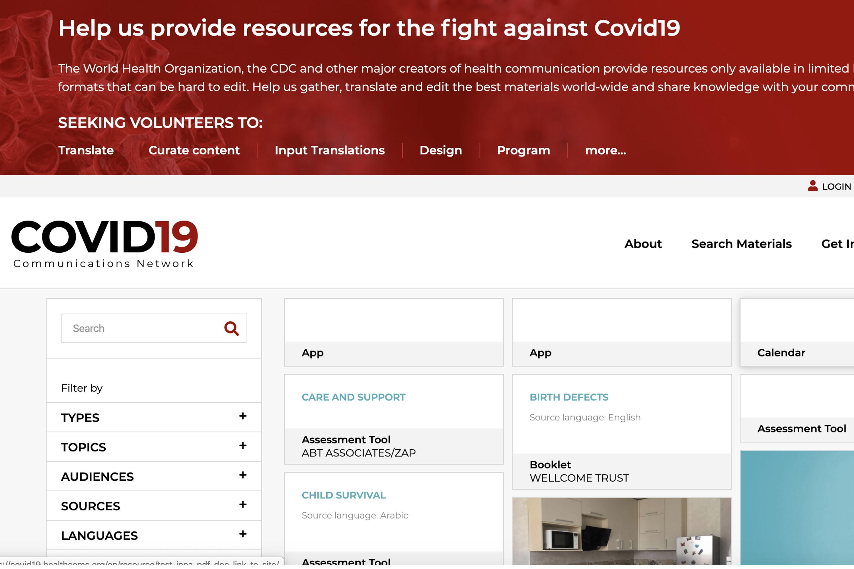 Covid19 Communications Network
