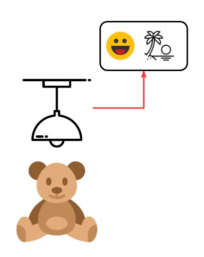 Low-Cost Hands-Free Mood Light with Teddy Bear Activation