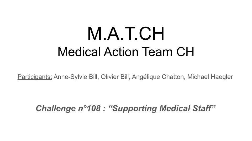 M.A.T.C.H. - Medical Action Team CH