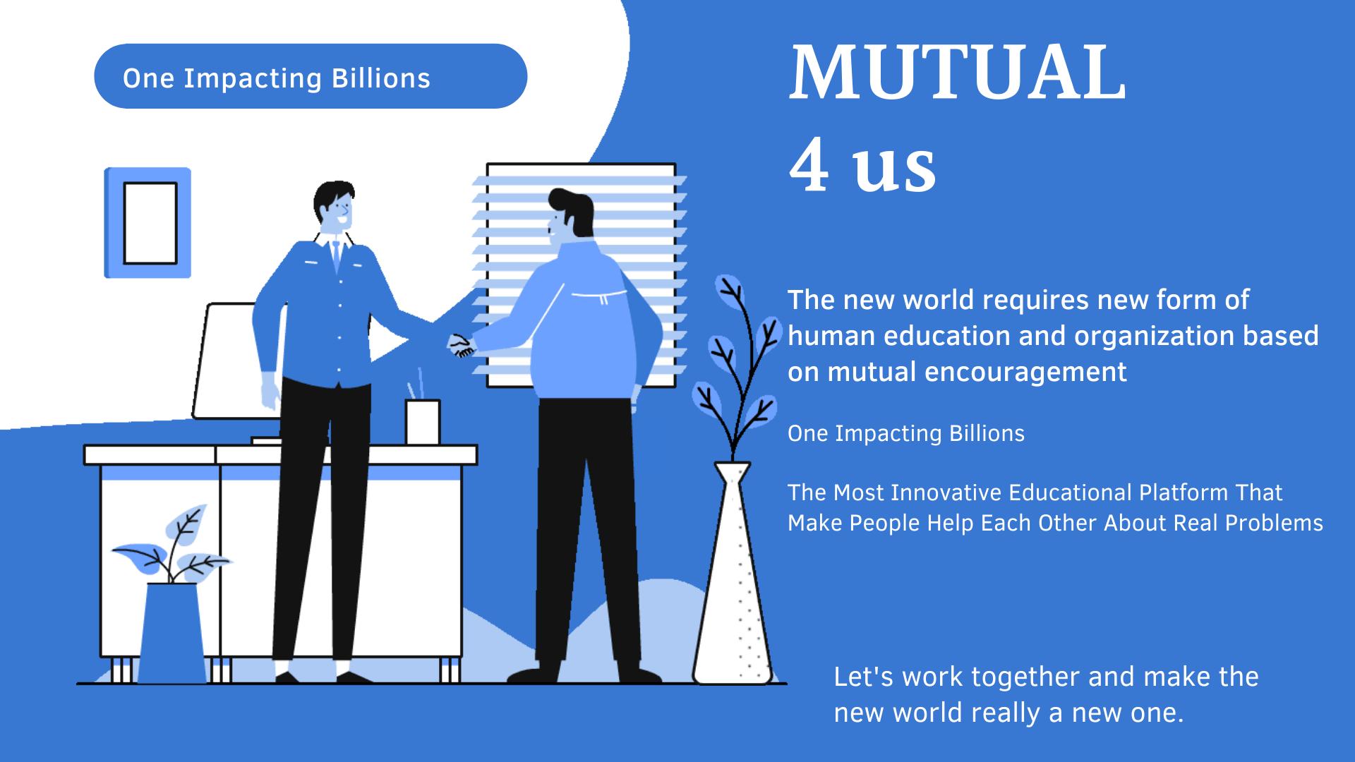 MUTUAL4us One Impacting Billions