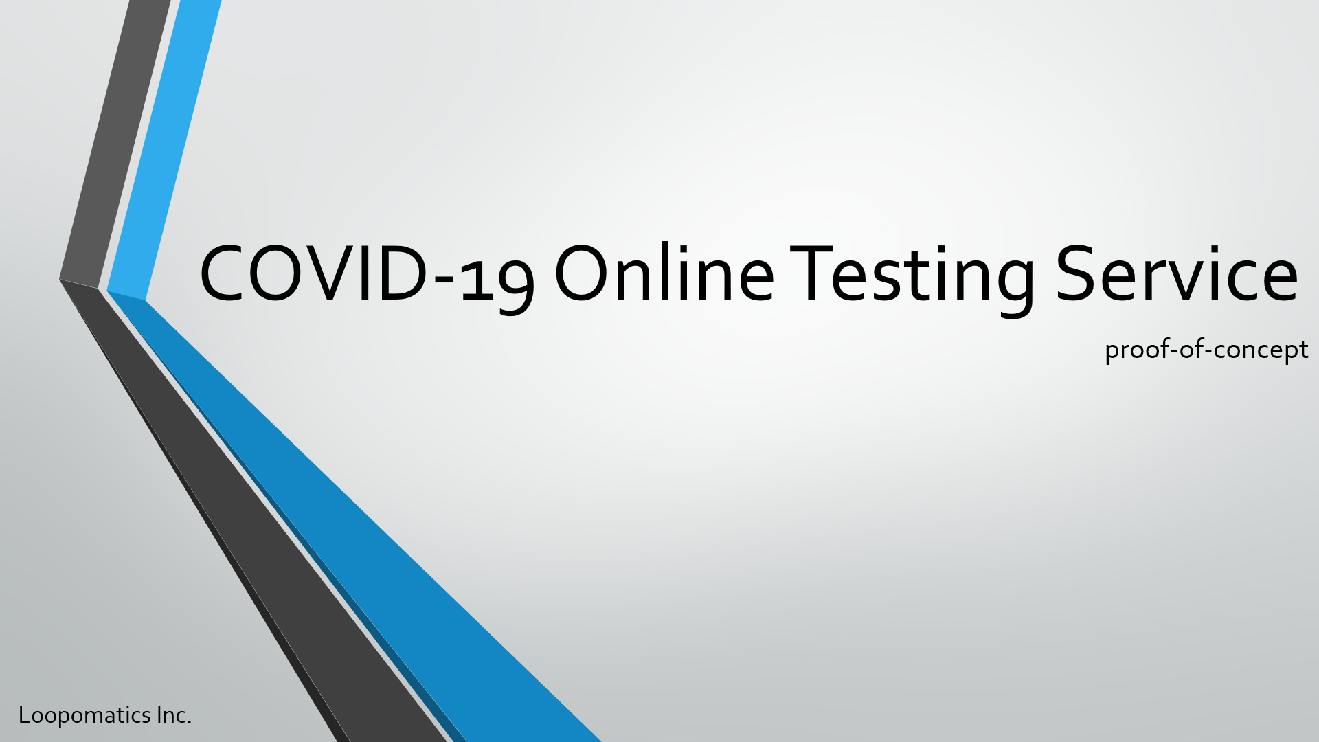 COVID-19 Online Testing Service