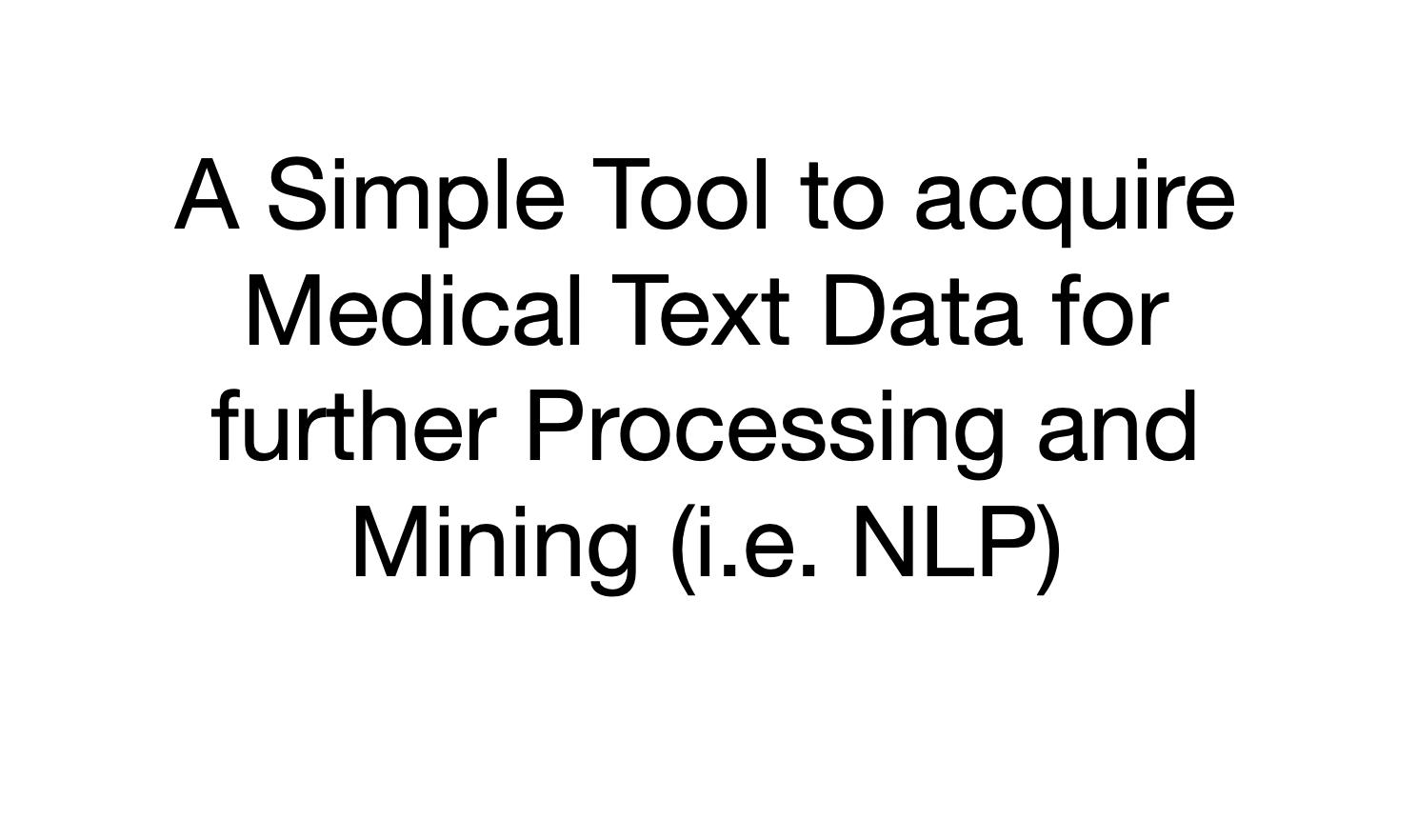 PubMed Web Scraper