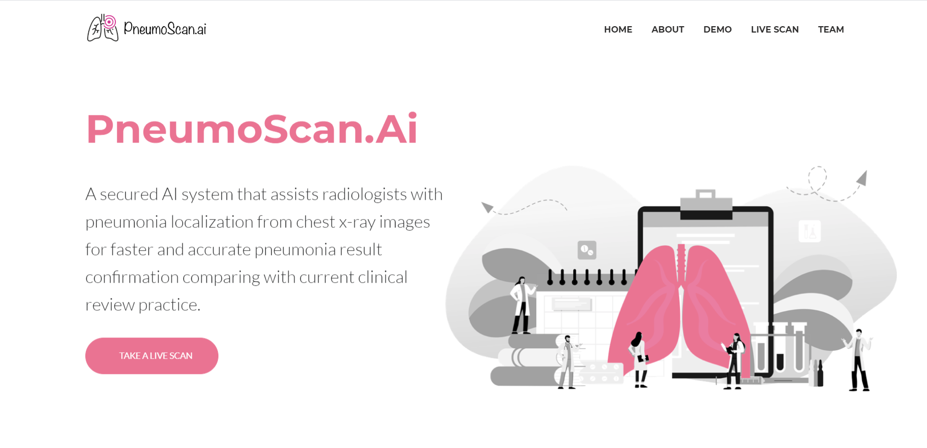 PneumoScan-An AI Radiology Tool For COVID-19 Pandemics