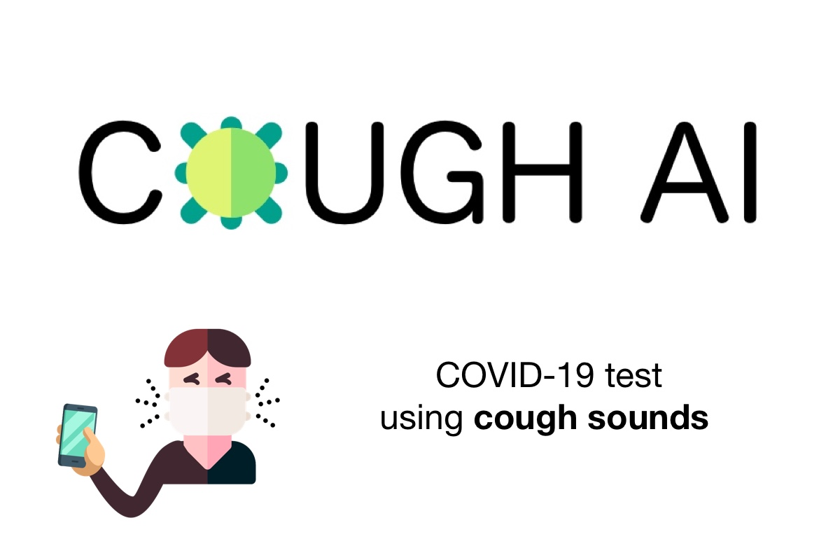 COVID-19 Detection from Coughing Sounds Using AI