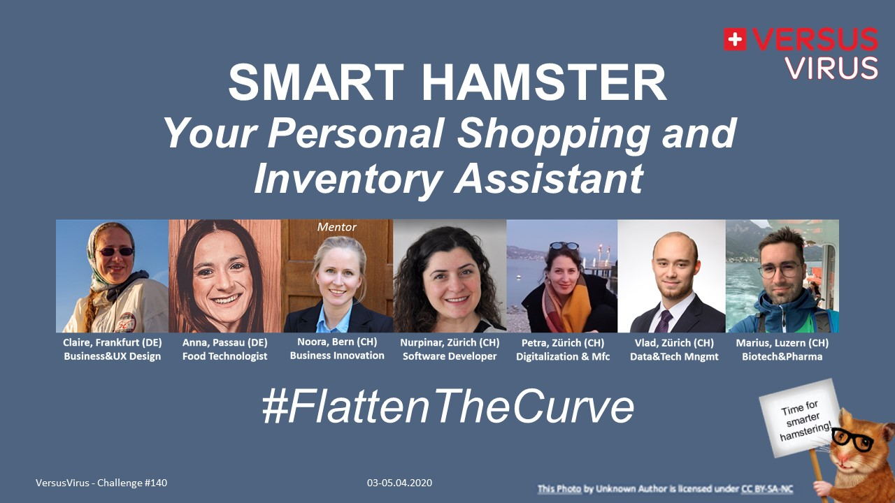 #140: Smart Hamster, a personal Shopping/Inventory Assistant