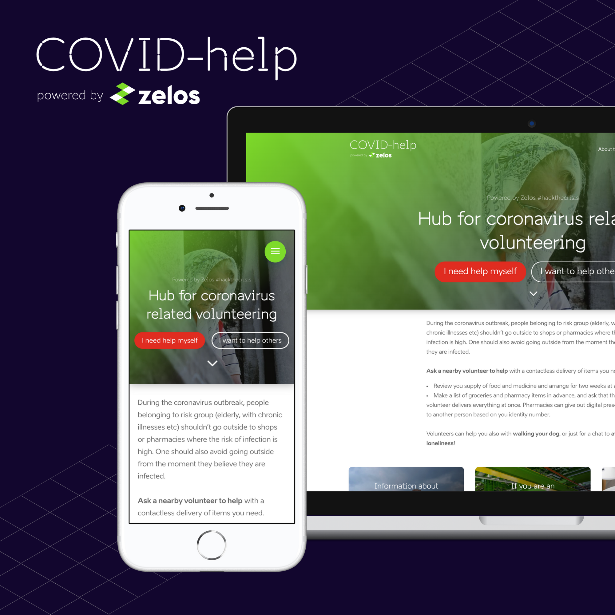 COVID-Help by Zelos