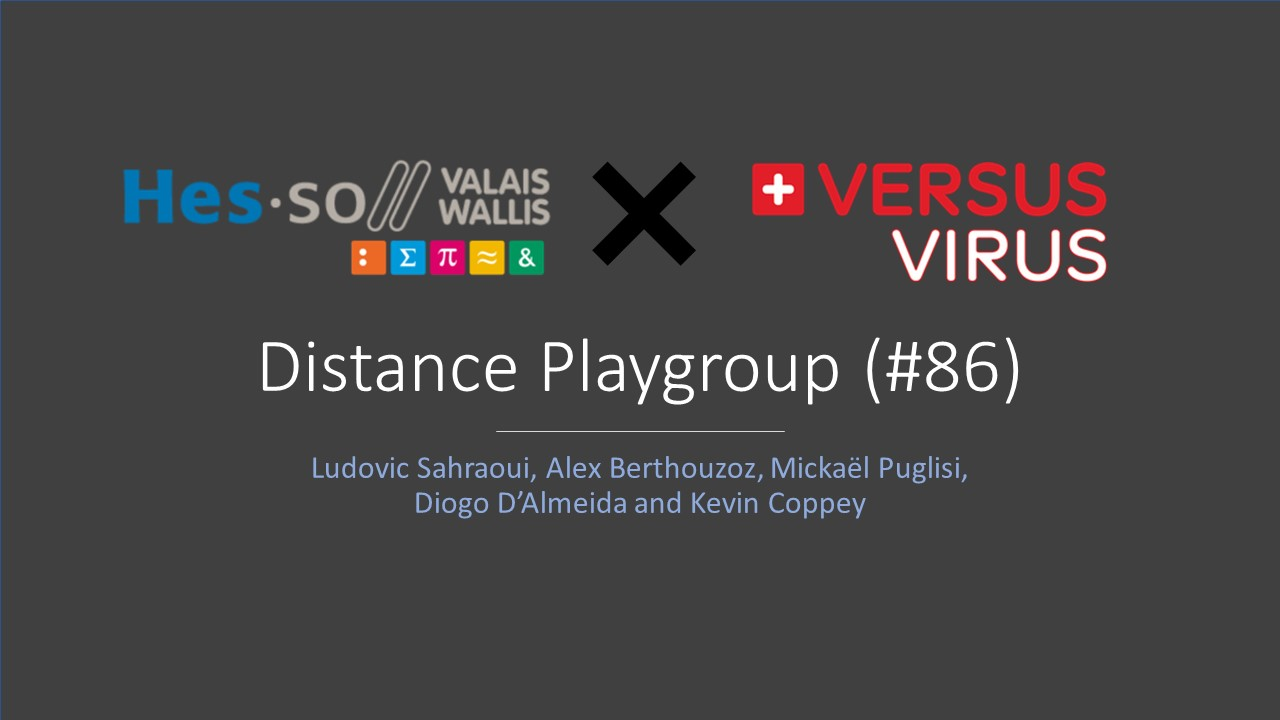 Distance Playgroup Challenge #86