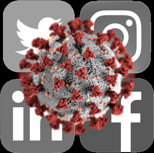Assess pandemic & optimize response with social medias