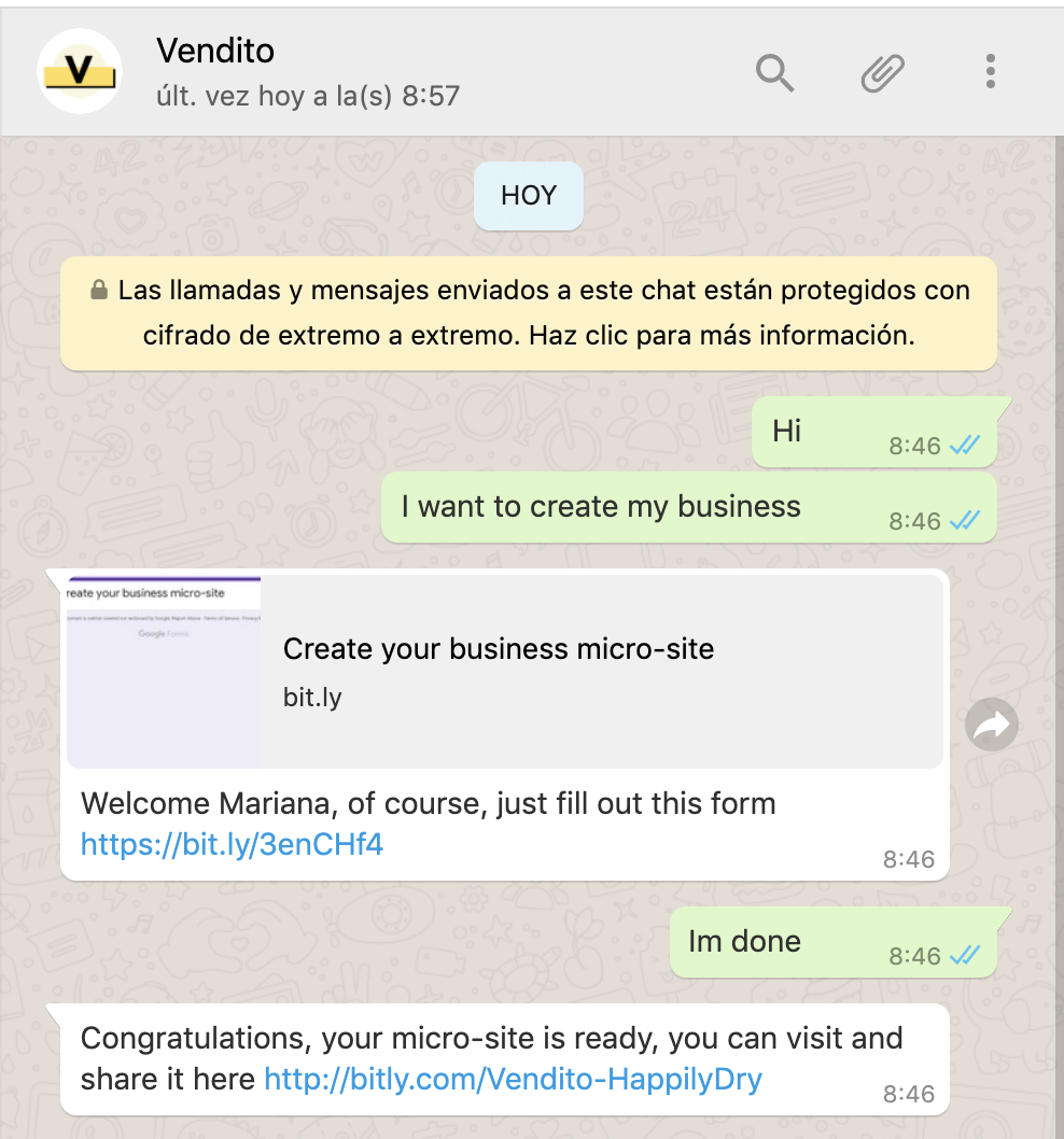 Vendito - SMB's Social Selling by unemployed