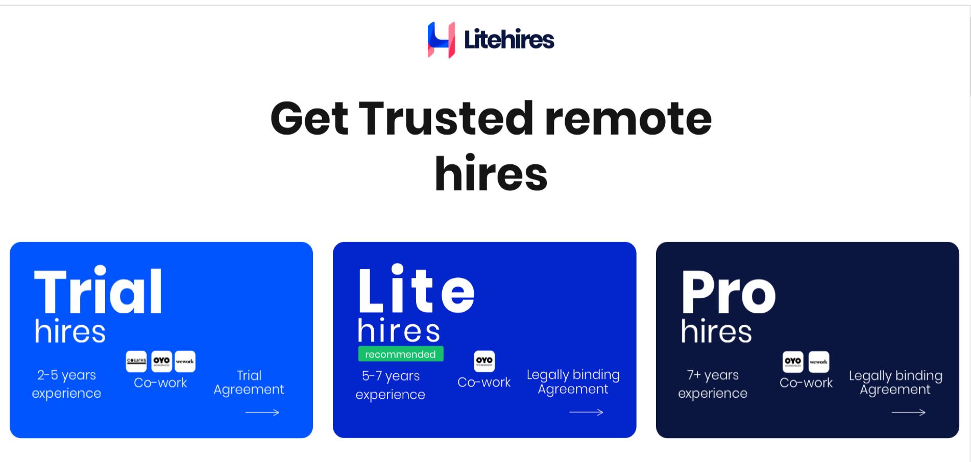 Litehires