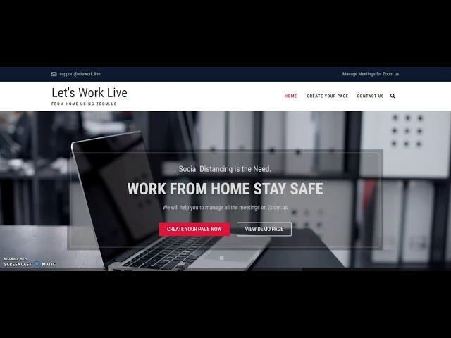 Lets Work Live - From Home Using Zoom.us