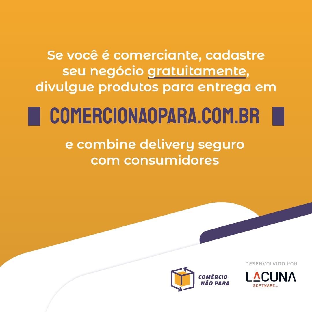 Comércio Não Para (Commerce won't stop)
