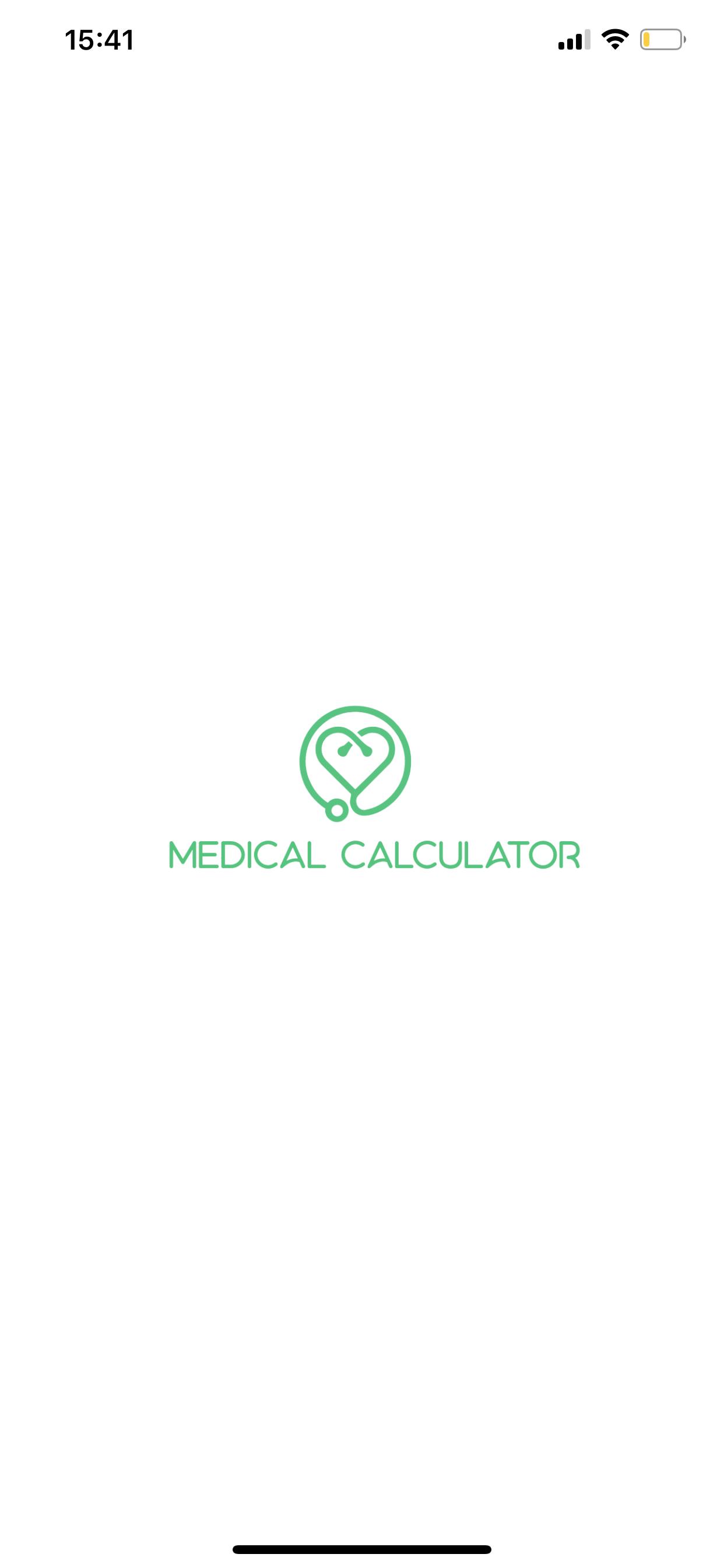 Covid Medical Calculator