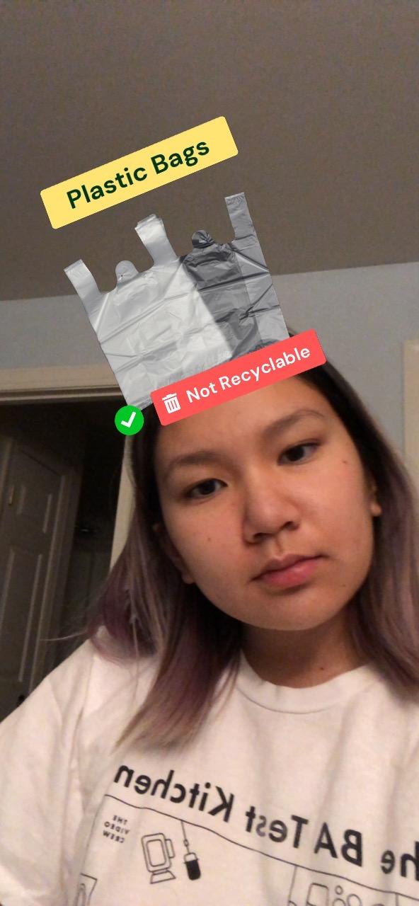 Is it recyclable? Instagram AR Quiz