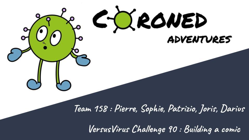 Coroned Adventures - A comic