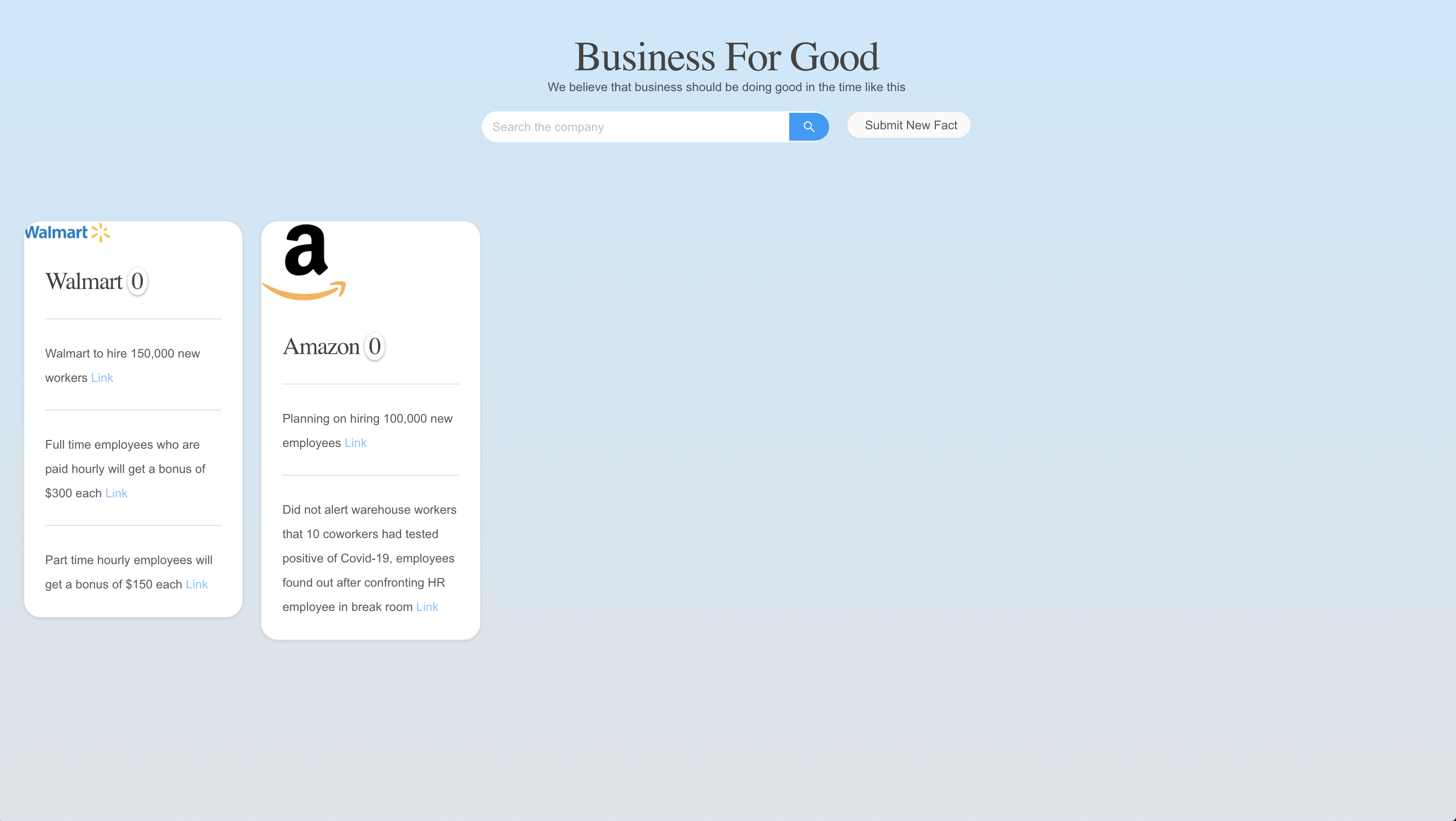 Covid business review